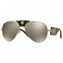 New Authentic Versace VE2150Q - Gold/Brown - $165.62