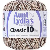Aunt Lydia 154.0992 Classic Crochet Thread, Shaded Brown - ₹337.46 INR