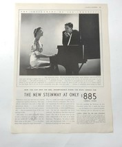 Vintage 1936 Steinway piano ad - $6.99