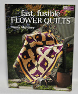 Fast, Fusible Flower Quilts By Nancy Mahoney - $23.61