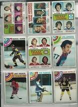 9 TOPPS 1978 HOCKEY cards NRMT LA FLEUR, ESPOSITO, DIONNE RATELLE group 3 - $6.06