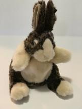 "Folkmanis Baby Dutch Rabbit Full Body Hand Puppet Plush 10"" Bunny Brown Soft - $14.85"