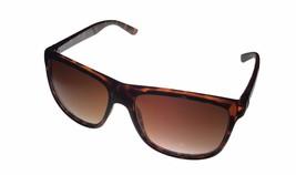 Kenneth Cole Reaction Mens Square Black Sunglass Light Brown Lens KC1270 1E - $17.99
