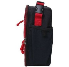 """NEW Cat & Jack 9.5"""" Red Black Mini Mask Lunch Bag Insulated Lunchbox image 2"""