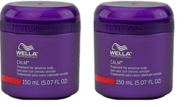 2 x Wella Calm Sensitive Scalp Conditioning Treatment 5.07oz Hair Masque... - $9.89