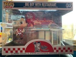 New Funko POP Big Boy with Restaurant Bob's Big Boy 22 - $31.00