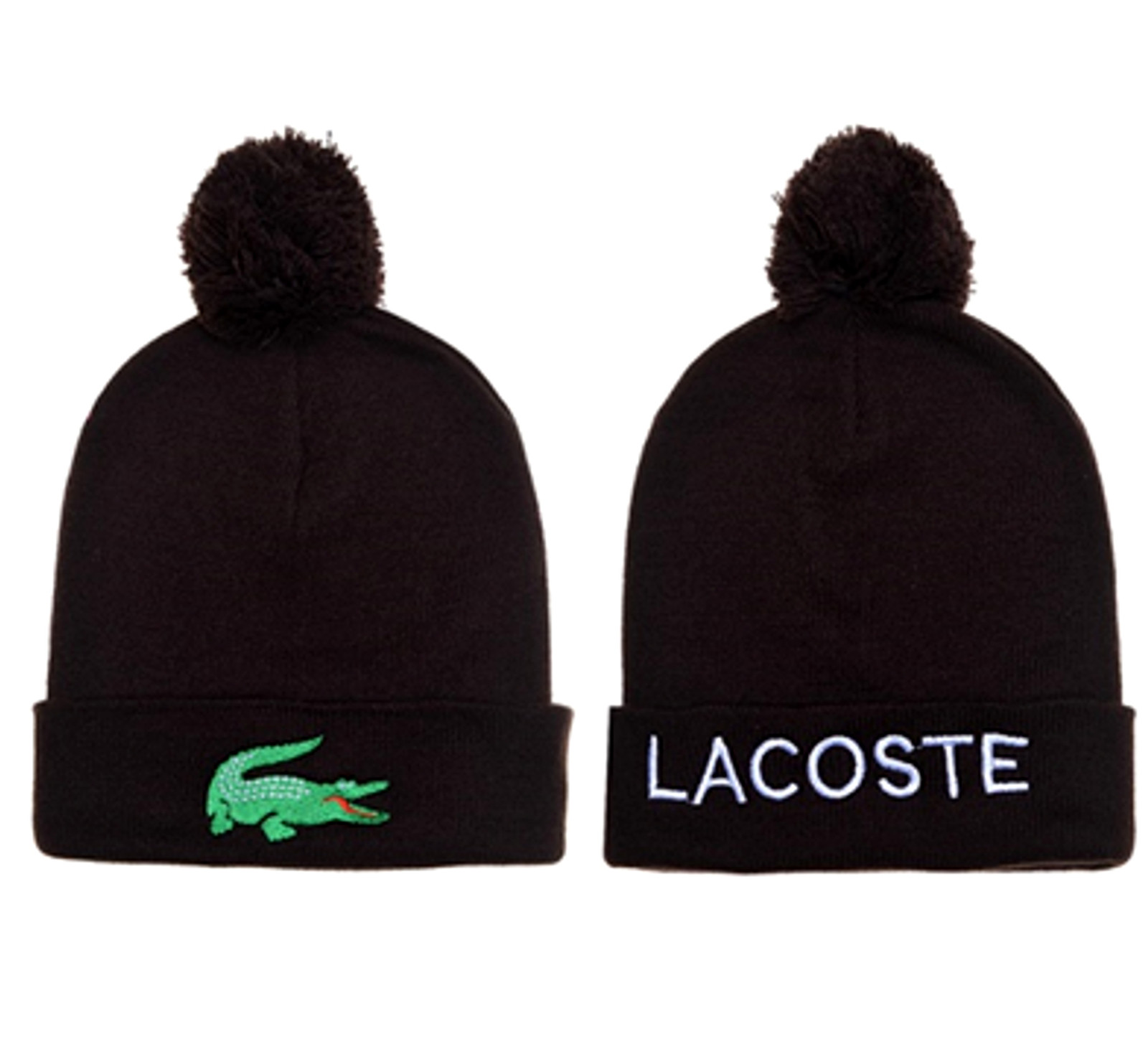 0c9aba93fd271 Lacoste Pom Pom Beanie Hat and 20 similar items