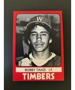 1980 Wausau Timbers TCMA #12 BOBBY TANZI  - $3.91