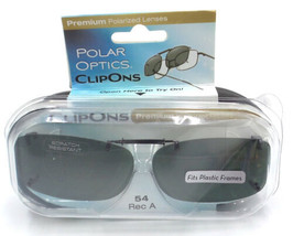 f0a493dfbdc6b Polar Optics Clip Ons premium Polarized glasses lenses cover W  Case 54 Rec  a added to cart. Only one available in stock