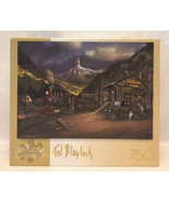 Ted Blaylock puzzle Nuggetville 1920 sealed 750 piece mountain railroad ... - $8.00