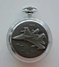 Russian Pocket Watch Molnija 3602 Military aircraft USSR IDEAL CONDITION... - €54,99 EUR