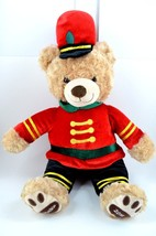 Belkie Bear Plush Teddy Exclusive Belk Soldier 2016 Christmas Red Green ... - $14.95