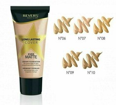 Revers LONG LASTING COVER Ever Matte  Foundation Smoothing Silky 30 ml - $5.99