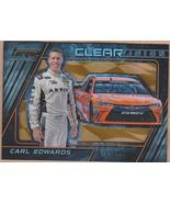 2016 Panini Torque Clear Vision Gold #5 Carl Edwards - $4.00
