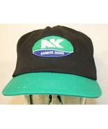 VTG 90s Sandoz Seeds K Products patch Black Green snapback Dad Trucker c... - $249.95