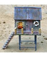 Fairy Garden Beach House Cottage High on Stilts - £37.15 GBP