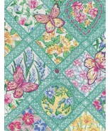 Last Yard, 2004, Butterfly Garden, Turquoise Diamonds, Flowers, Gorgeous... - $8.97