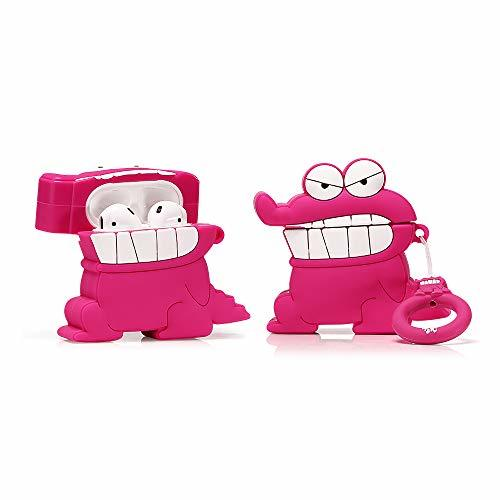 ZAHIUS Airpods Silicone Case Funny Cover Compatible For
