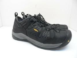 KEEN Men's Atlanta Cool II Utility Steel Toe Work Shoe 1023216 Black Siz... - $142.49