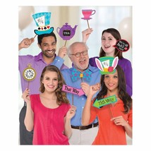 Mad Tea Party Photo Booth Props - 13 Pieces - FREE Shipping - €8,85 EUR