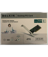 Belkin Desktop PCI card New in sealed box - $12.19