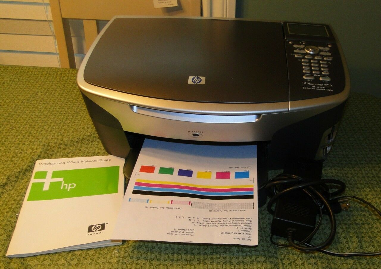 Primary image for HP Photosmart 2710 Wireless All-in-One Color Printer
