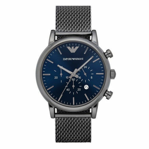 NEW EMPORIO ARMANI AR1979 Sport Chronograph Stainless Steel Men's Wrist Watch