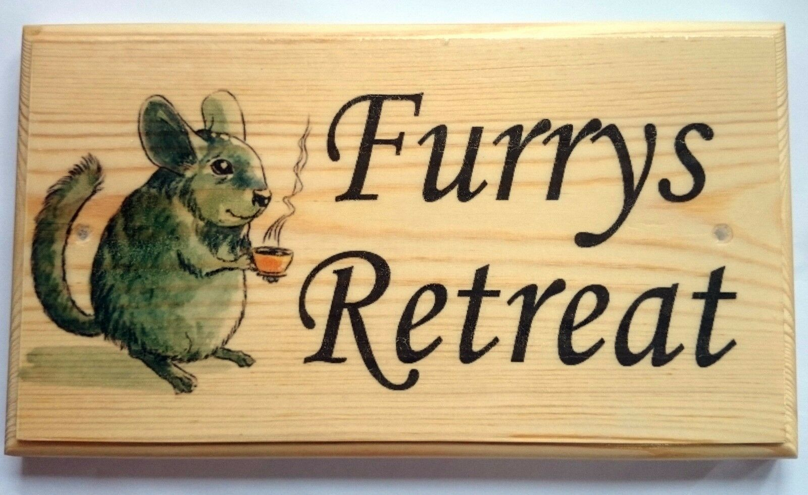 Primary image for Large Furrys Retreat Plaque / Sign - Mouse Rat Hamster Pets