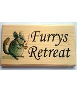 Large Furrys Retreat Plaque / Sign - Mouse Rat Hamster Pets - $19.09