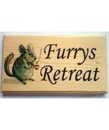 Large Furrys Retreat Plaque / Sign - Mouse Rat Hamster Pets - £14.09 GBP