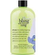 Philosophy TROLLS Shampoo Shower Gel Bubble Guy Diamond Bling With Lemon... - $31.68