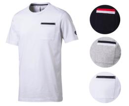 Puma Bmw MotorSport Men's Premium Cotton Graphic DryCell MSP Tee T-Shirt 572773
