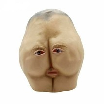 Masquerade Adults Mask Butt Scary Full Head Latex Creepy Party Costume C... - £20.06 GBP