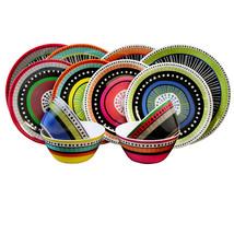 Gibson Almira 12-Piece Dinnerware Set in 4 Assorted Colors - $46.60