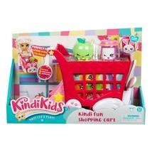 Kindi Kids Kindi Fun Shopping Cart, Doll Playset NEW - $10.99