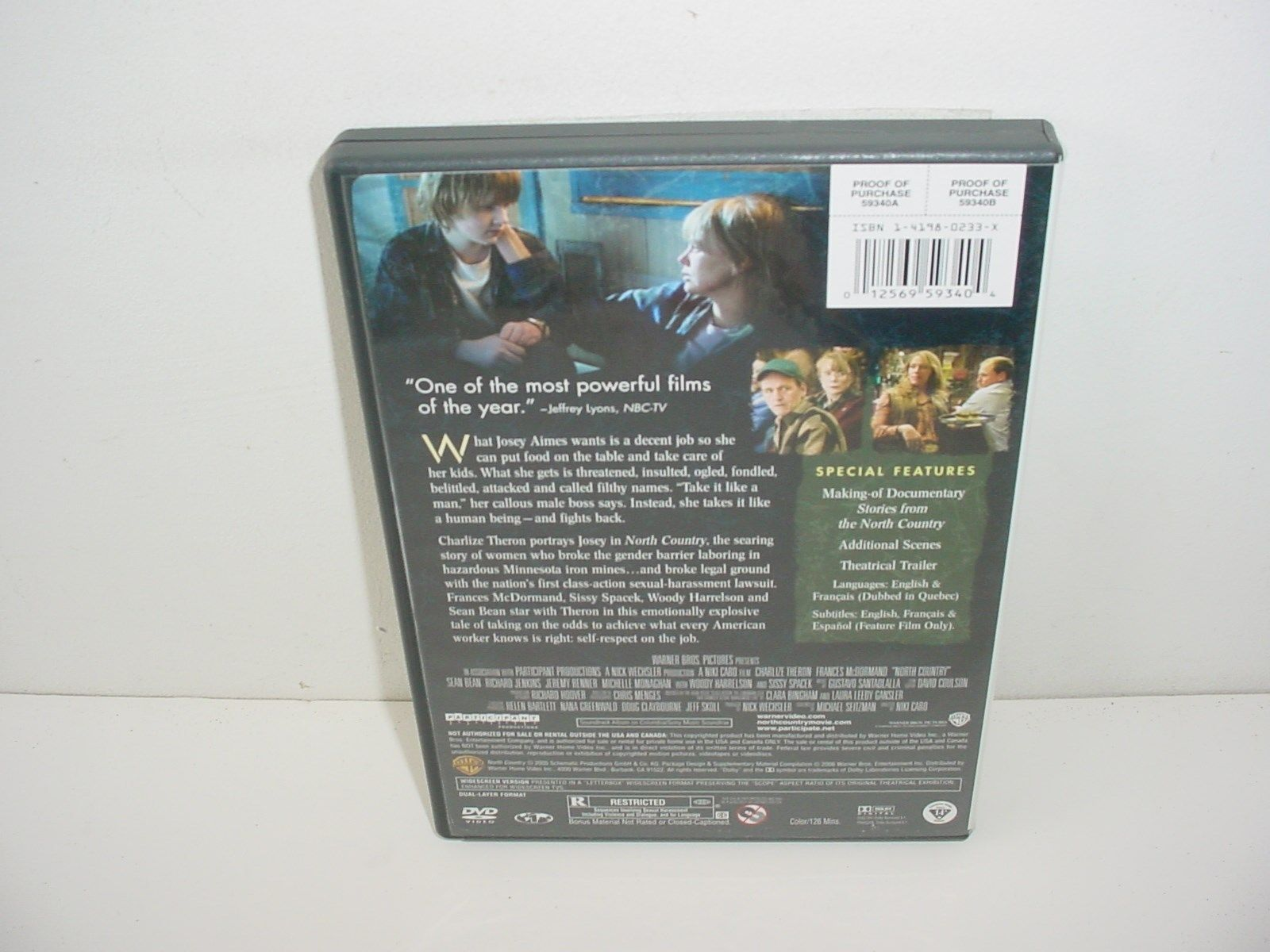 North Country DVD Movie