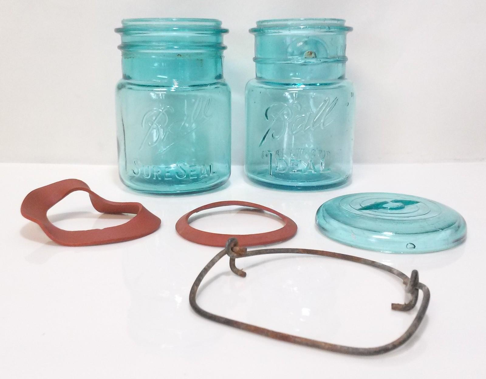 Ball Sure Seal Ideal Aqua Blue Green Canning and 50 similar items
