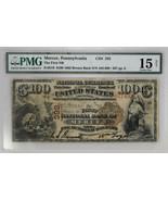 1882 $100 Brown Back, Mercer, Pennsylvania The First NB CH#392 Fr#519 PM... - £3,977.54 GBP