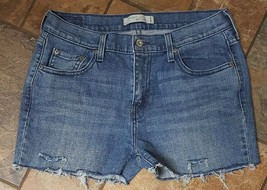 Women's Levi's 505 Cut Off Jean Shorts Size 10 (Inventory w38) - $12.86