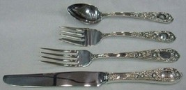 Rose By Kirk Sterling Silver Regular Size Place Setting(s) 4pc - $187.25