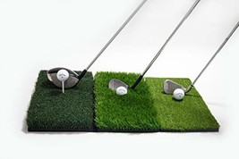 Golf Hitting Mat - 3-in-1 Foldable - Practice Turf Backyard or Indoor Ch... - $132.32