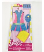 Barbie Fashions Tennis Time Barbie Doll Outfit With Tennis Ball Racquet ... - $8.59