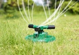 Lawn/Garden Sprinkler: Benestellar Circular Sprayer Durable Rotary 3-Arm Water - $9.99