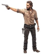The Walking Dead TV Rick Grimes Deluxe 3D Scan 10 Figure With Pistol And... - $39.76