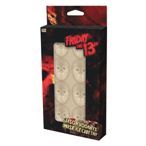 Friday the 13th Jason Mask Images Ice Cube Tray with 8 Cube Slots NEW UN... - $8.79