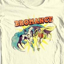 Bat-Man and Robin Bromance T-shirt superhero Gotham DC comic book DCO633 image 1