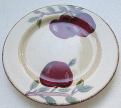Apple Harvest Large Dinner Plate by Canterbury Potteries Handpainted Col... - $12.99