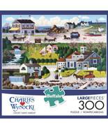 "Buffalo Games - Charles Wysocki - ""Cricket Hawk Harbor"" - 300 Large Piec... - $14.03"