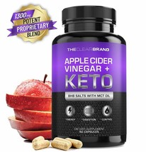 Keto Diet Pills + Apple Cider Vinegar (BHB Salts & MCT Oil) - $45.50