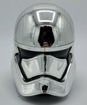 Disney Parks Star Wars Silver Stormtrooper Cup Mug Hinge Handle Captain Phasma - $9.90